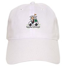 Retired and Golfing Baseball Cap