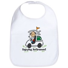 Retired and Golfing Bib
