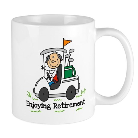 Retired and Golfing Mug
