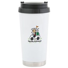 Retired and Golfing Travel Mug
