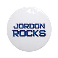 jordon rocks Ornament (Round)