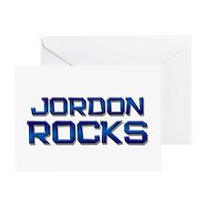 jordon rocks Greeting Card