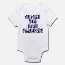 Chicks Dig Crib Fighters Infant Bodysuit