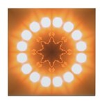 Sun Wheel II  Tile Coaster