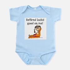 Beach Retiree Infant Bodysuit