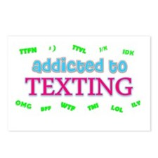 Cute Cell phones Postcards (Package of 8)