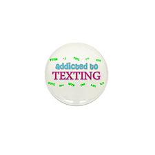 Cute Cell phone Mini Button (10 pack)