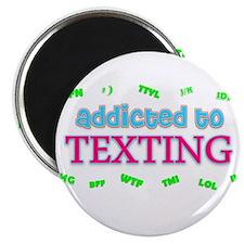 """Unique Addictions 2.25"""" Magnet (100 pack)"""