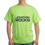 jonathon rocks Green T-Shirt