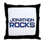 jonathon rocks Throw Pillow