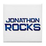 jonathon rocks Tile Coaster