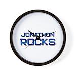 jonathon rocks Wall Clock