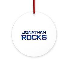 jonathan rocks Ornament (Round)