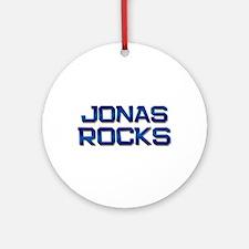jonas rocks Ornament (Round)