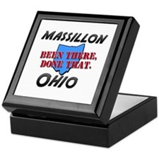 massillon ohio - been there, done that Keepsake Bo
