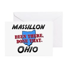 massillon ohio - been there, done that Greeting Ca