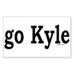 go Kyle Rectangle Sticker