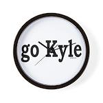 go Kyle Wall Clock