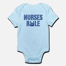 Nurses Rule Infant Bodysuit
