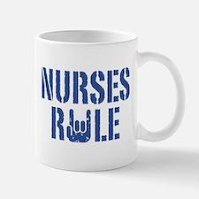 Nurses Rule Mug