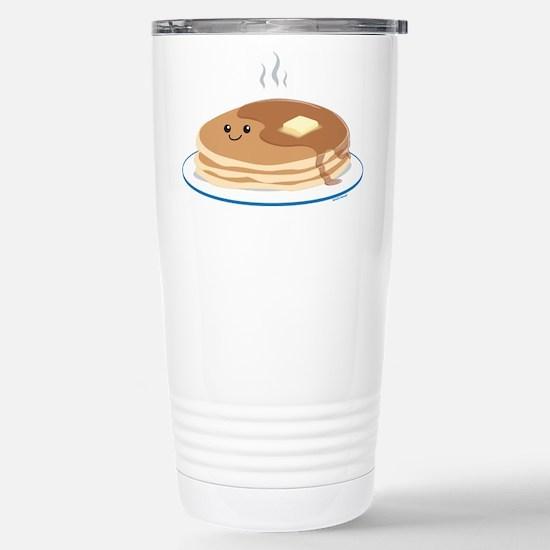 Breakfast Time Stainless Steel Travel Mug
