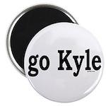 """go Kyle 2.25"""" Magnet (10 pack)"""