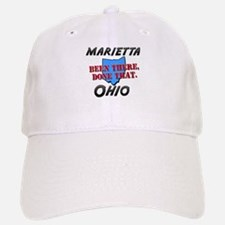 marietta ohio - been there, done that Baseball Baseball Cap