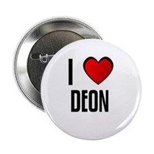 I LOVE DEON Button