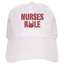 Nurses Rule Baseball Cap