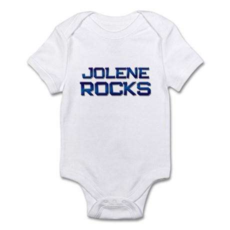 jolene rocks Infant Bodysuit