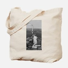 Cute Wind power Tote Bag