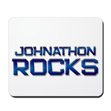 johnathon rocks Mousepad