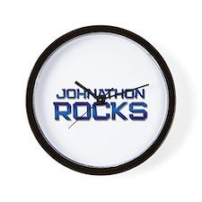johnathon rocks Wall Clock