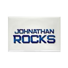 johnathan rocks Rectangle Magnet