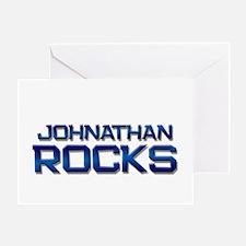 johnathan rocks Greeting Card