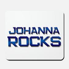 johanna rocks Mousepad
