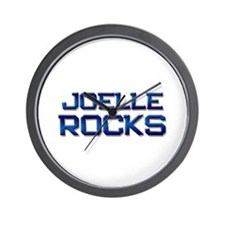joelle rocks Wall Clock