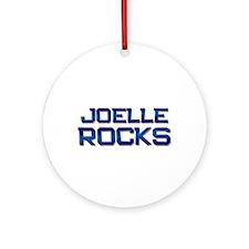 joelle rocks Ornament (Round)