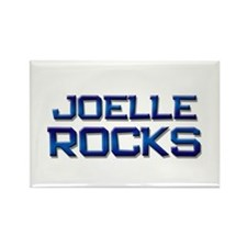 joelle rocks Rectangle Magnet