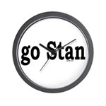 go Stan Wall Clock