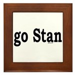 go Stan Framed Tile