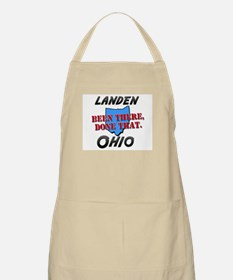 landen ohio - been there, done that BBQ Apron