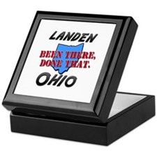 landen ohio - been there, done that Keepsake Box