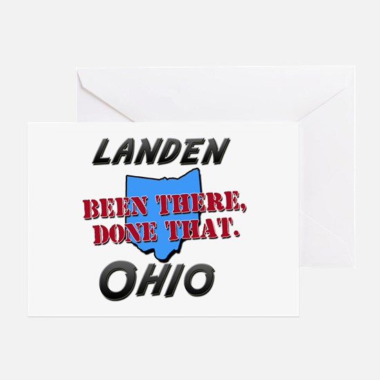 landen ohio - been there, done that Greeting Card
