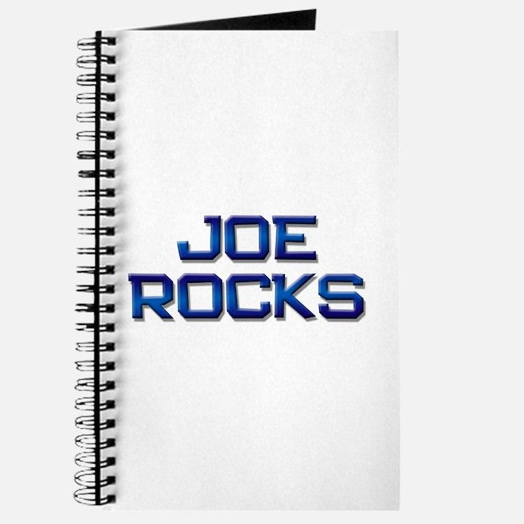 joe rocks Journal
