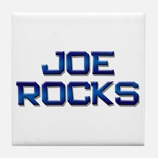 joe rocks Tile Coaster