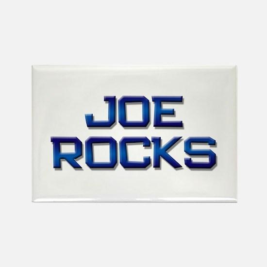 joe rocks Rectangle Magnet