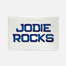 jodie rocks Rectangle Magnet