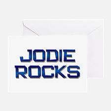 jodie rocks Greeting Card