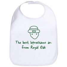 Royal Oak leprechauns Bib